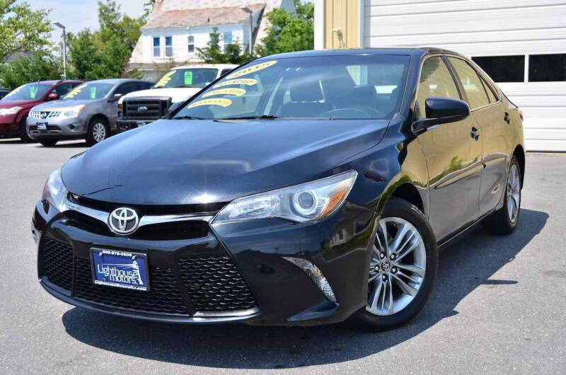 2015 Toyota Camry for sale at Lighthouse Motors Inc. in Pleasantville NJ