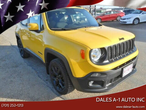 2017 Jeep Renegade for sale at Dales A-1 Auto Inc in Jamestown ND