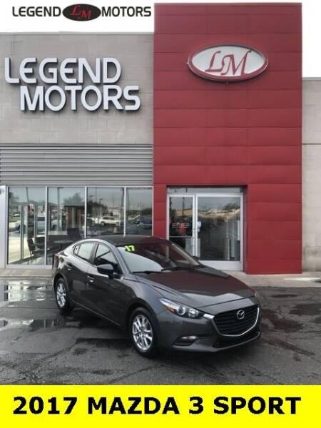 2017 Mazda MAZDA3 for sale at Legend Motors of Ferndale in Ferndale MI