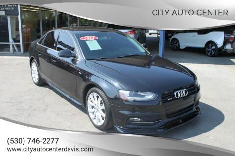 2014 Audi A4 for sale at City Auto Center in Davis CA