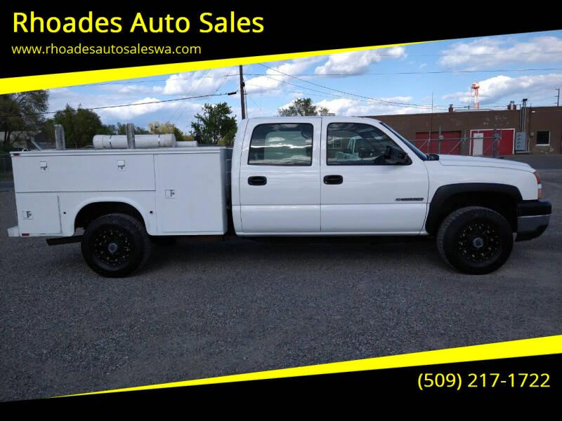 2006 Chevrolet Silverado 2500HD for sale at Rhoades Auto Sales in Spokane Valley WA