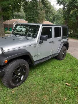 2011 Jeep Wrangler Unlimited for sale at Cappy's Automotive in Whitinsville MA