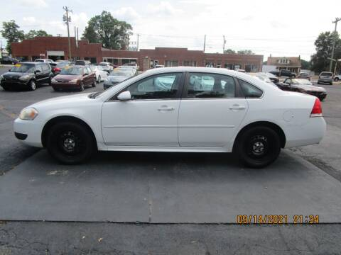 2012 Chevrolet Impala for sale at Taylorsville Auto Mart in Taylorsville NC