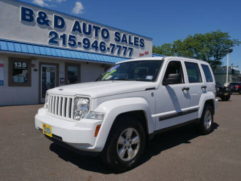 2011 Jeep Liberty for sale at B & D Auto Sales Inc. in Fairless Hills PA