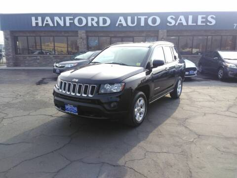 2014 Jeep Compass for sale at Hanford Auto Sales in Hanford CA