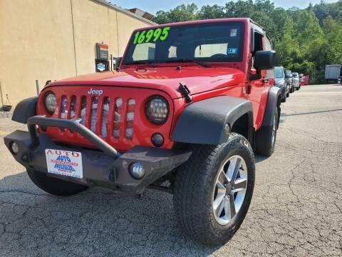 2011 Jeep Wrangler for sale at Auto Wholesalers Of Hooksett in Hooksett NH