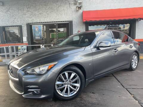2015 Infiniti Q50 for sale at MATRIX AUTO SALES INC in Miami FL