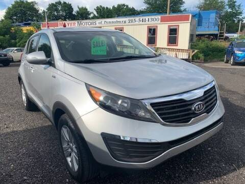 2012 Kia Sportage for sale at Mayer Motors of Pennsburg in Pennsburg PA