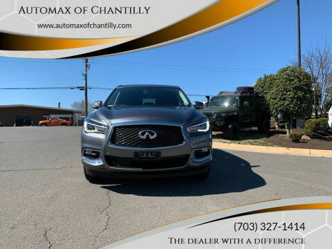 2018 Infiniti QX60 for sale at Automax of Chantilly in Chantilly VA