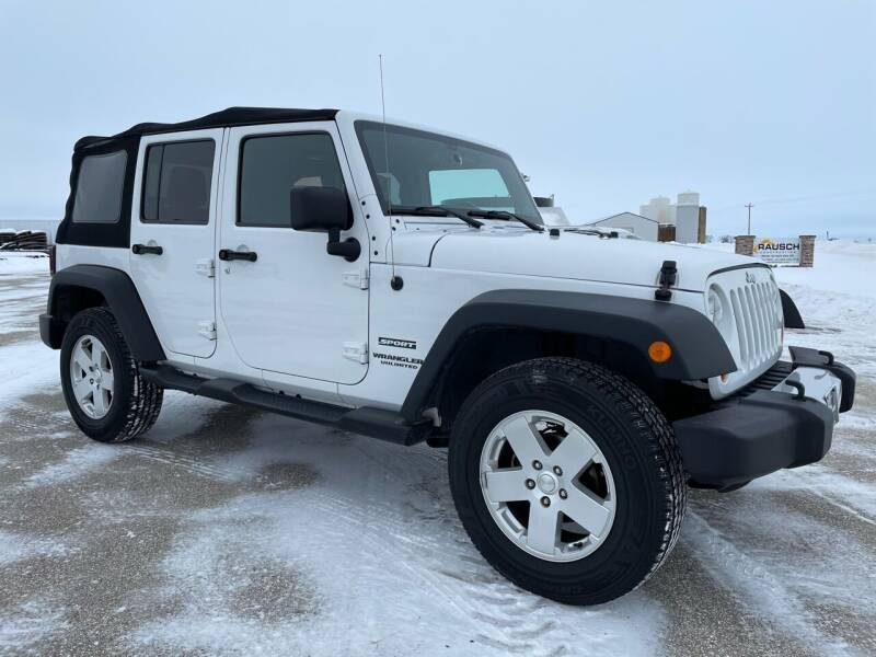 2013 Jeep Wrangler Unlimited for sale at Kuhn Enterprises, Inc. in Fort Atkinson IA