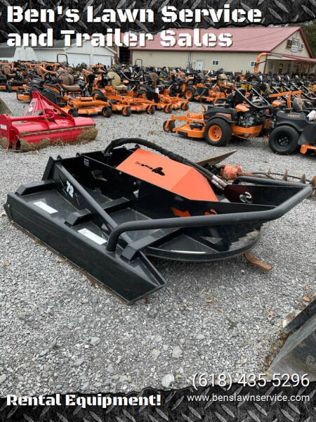 "Skidpro 72"" Skid Steer Brushcutter for sale at Ben's Lawn Service and Trailer Sales in Benton IL"