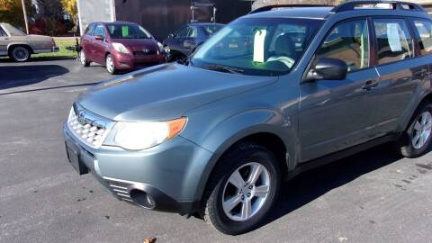 2011 Subaru Forester for sale at Eagle's Wings Auto Sales in Hilton NY