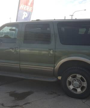 2001 Ford Excursion for sale at Direct Auto Sales+ in Spokane Valley WA