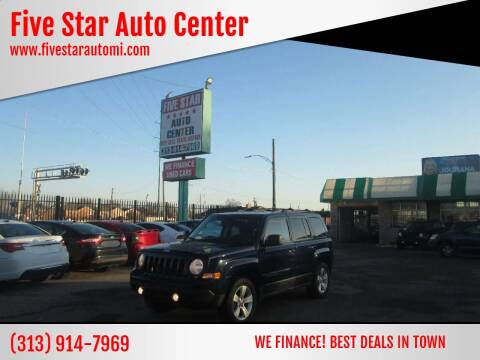 2014 Jeep Patriot for sale at Five Star Auto Center in Detroit MI