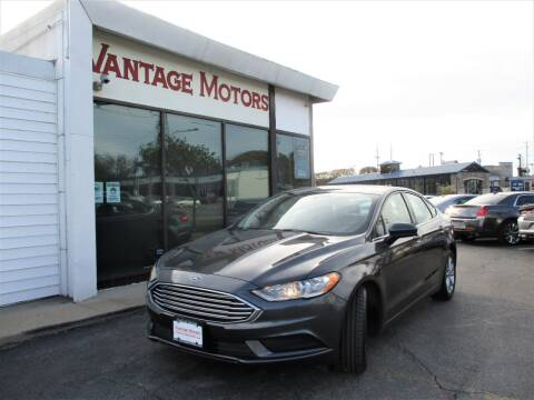2017 Ford Fusion for sale at Vantage Motors LLC in Raytown MO