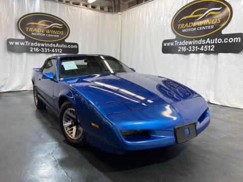 1991 Pontiac Firebird for sale at TRADEWINDS MOTOR CENTER LLC in Cleveland OH