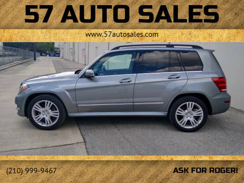2015 Mercedes-Benz GLK for sale at 57 Auto Sales in San Antonio TX
