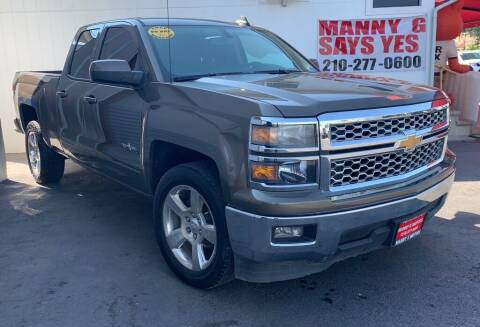 2015 Chevrolet Silverado 1500 for sale at Manny G Motors in San Antonio TX