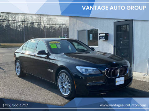 2013 BMW 7 Series for sale at Vantage Auto Group Tinton Falls in Tinton Falls NJ