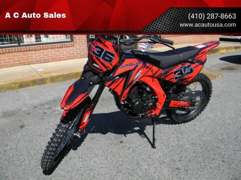 2020 Apollo SOLD - Ernest DB 36 for sale at A C Auto Sales in Elkton MD