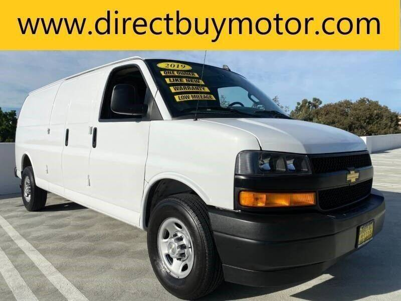 2019 Chevrolet Express Cargo for sale at Direct Buy Motor in San Jose CA