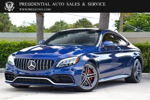 2019 Mercedes-Benz C-Class for sale at Presidential Auto  Sales & Service in Delray Beach FL