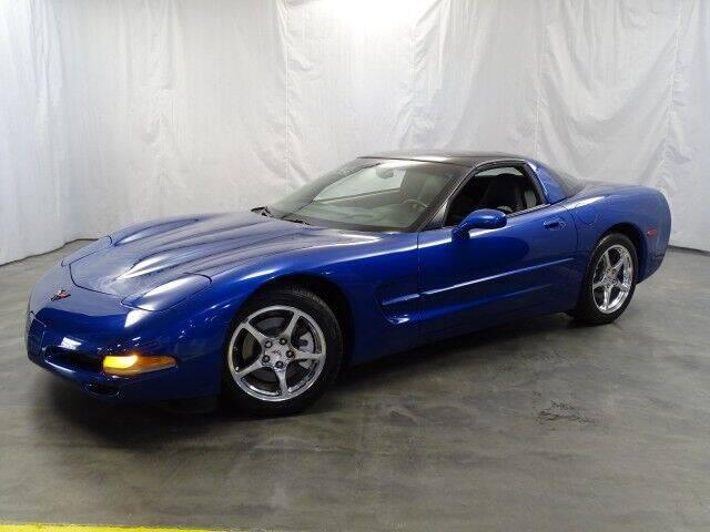 2002 Chevrolet Corvette for sale at United Auto Exchange in Addison IL