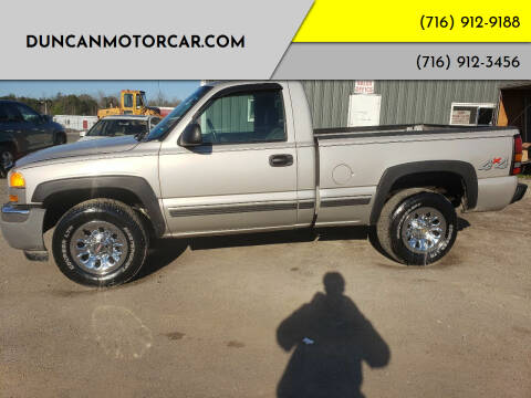 2006 GMC Sierra 1500 for sale at DuncanMotorcar.com in Buffalo NY