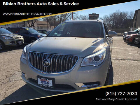 2014 Buick Enclave for sale at Bibian Brothers Auto Sales & Service in Joliet IL