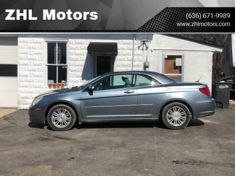 2008 Chrysler Sebring for sale at ZHL Motors in House Springs MO