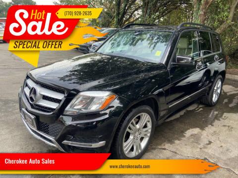 2014 Mercedes-Benz GLK for sale at Cherokee Auto Sales in Acworth GA