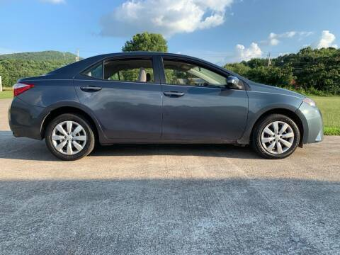 2014 Toyota Corolla for sale at Tennessee Valley Wholesale Autos LLC in Huntsville AL
