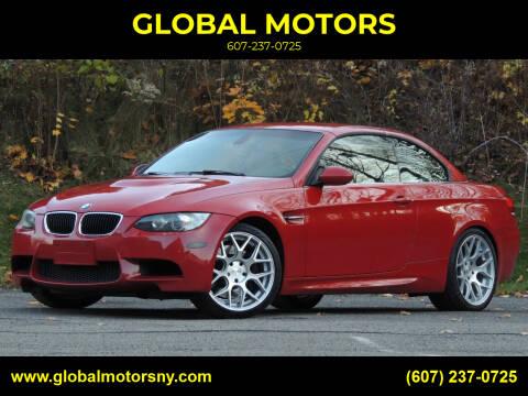 2010 BMW M3 for sale at GLOBAL MOTORS in Binghamton NY