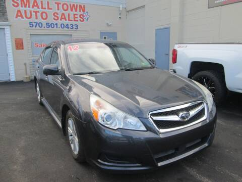 2012 Subaru Legacy for sale at Small Town Auto Sales in Hazleton PA