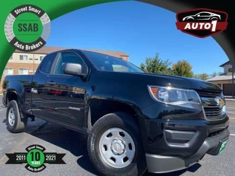 2018 Chevrolet Colorado for sale at Street Smart Auto Brokers in Colorado Springs CO