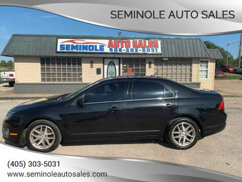 2010 Ford Fusion for sale at Seminole Auto Sales in Seminole OK