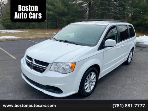 2014 Dodge Grand Caravan for sale at Boston Auto Cars in Dedham MA
