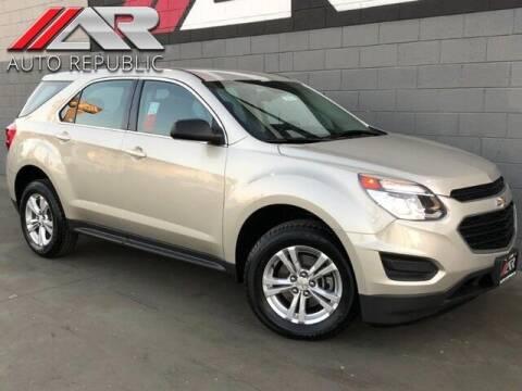 2016 Chevrolet Equinox for sale at Auto Republic Fullerton in Fullerton CA