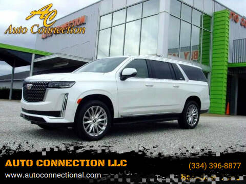 2021 Cadillac Escalade ESV for sale at AUTO CONNECTION LLC in Montgomery AL