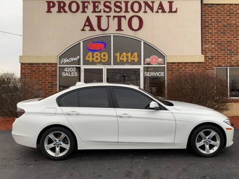 2015 BMW 3 Series for sale at Professional Auto Sales & Service in Fort Wayne IN