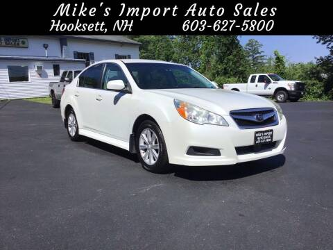 2011 Subaru Legacy for sale at Mikes Import Auto Sales INC in Hooksett NH