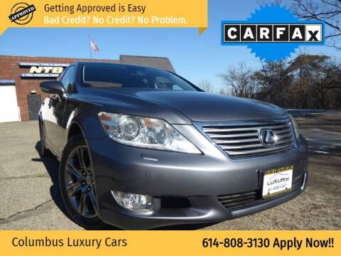 2012 Lexus LS 460 for sale at Columbus Luxury Cars in Columbus OH