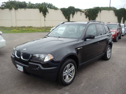 2005 BMW X3 for sale at Metro Motor Sales in Minneapolis MN