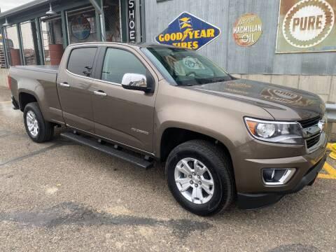 2016 Chevrolet Colorado for sale at BISMAN AUTOWORX INC in Bismarck ND