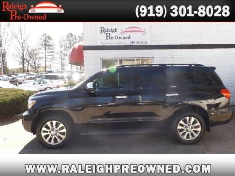2010 Toyota Sequoia for sale at Raleigh Pre-Owned in Raleigh NC