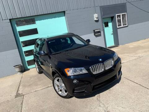 2014 BMW X3 for sale at Enthusiast Autohaus in Sheridan IN