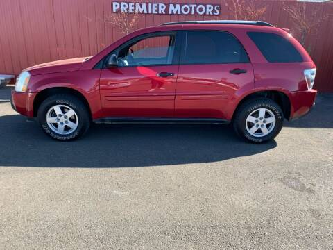 2005 Chevrolet Equinox for sale at PREMIERMOTORS  INC. in Milton Freewater OR