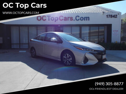 2018 Toyota Prius Prime for sale at OC Top Cars in Irvine CA