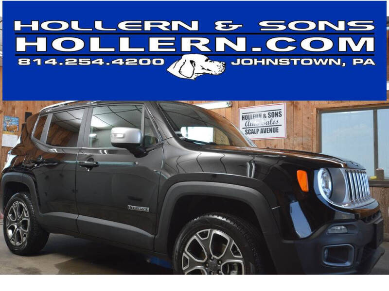 2018 Jeep Renegade for sale at Hollern & Sons Auto Sales in Johnstown PA