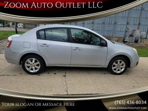 2007 Nissan Sentra for sale at Zoom Auto Outlet LLC in Thorntown IN
